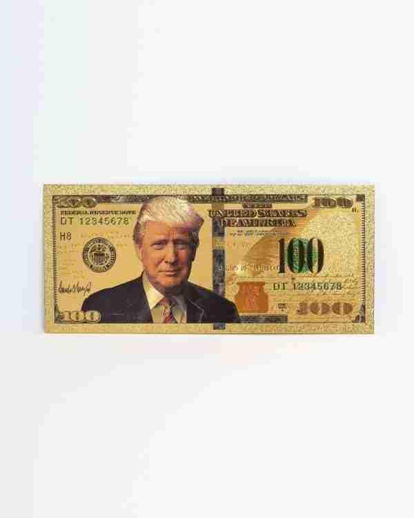 Trump 100 Dollar Bill Front