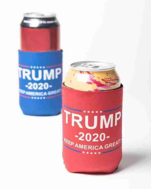 Trump 2020 Can Koozies