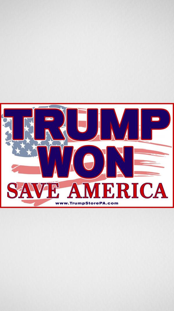 Trump Won Flag 1a