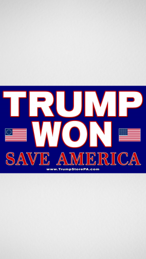 Trump Won Flag 2a
