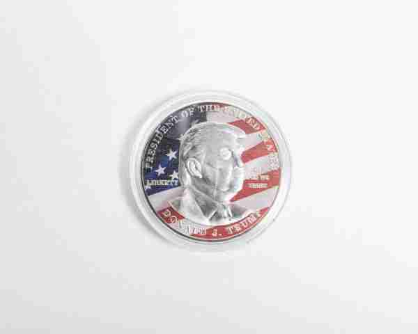 Trump silver Coin Front