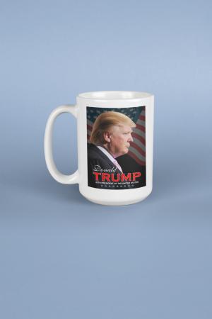 Pres Trump Profile Mug