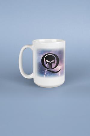 Q Lightning Mug