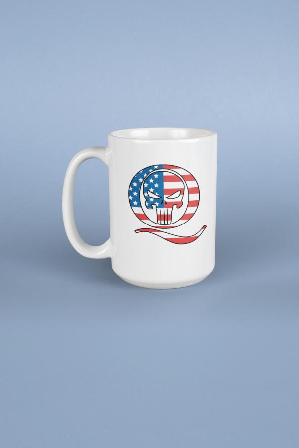 Q Punisher USA Mug