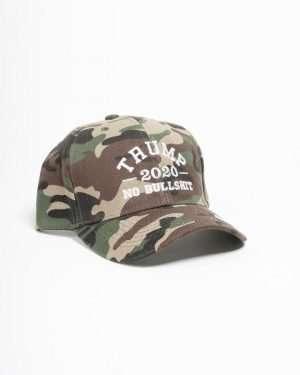 Trump 2020 No Bullshit Camo Hat