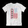 Trump USA Flag White