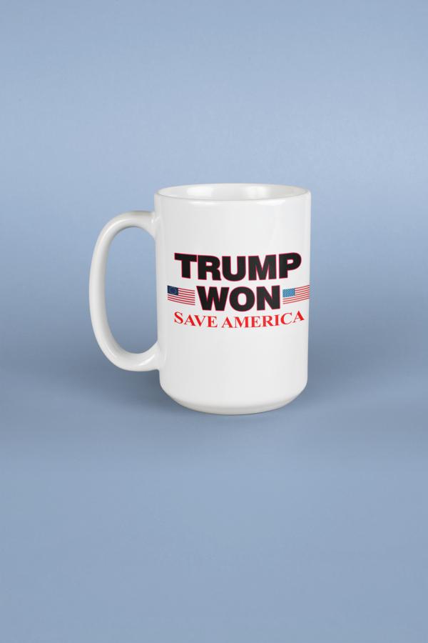 Trump Won Mug
