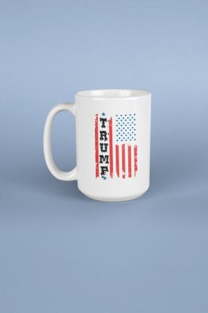 USA Trump Flag Mug