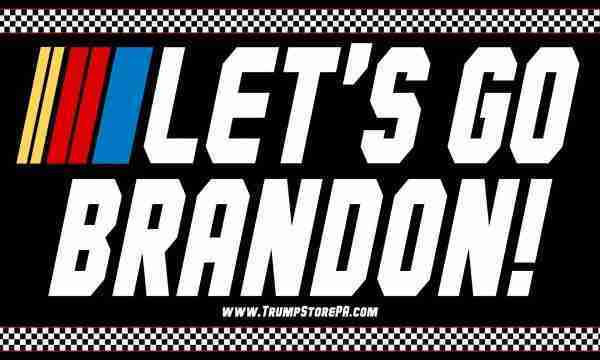 Lets Go Brandon Flag_Black