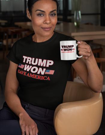 Trump Won Tee _ Mug